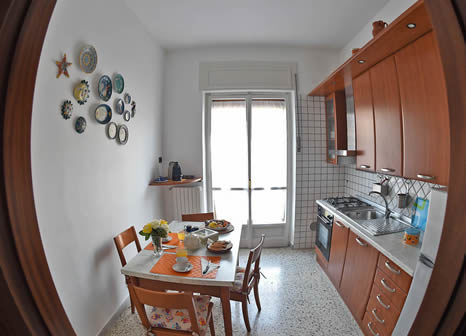 Bed & breakfast salerno cucina