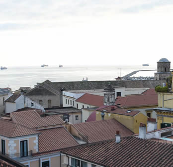 Bed & breakfast salerno panorama